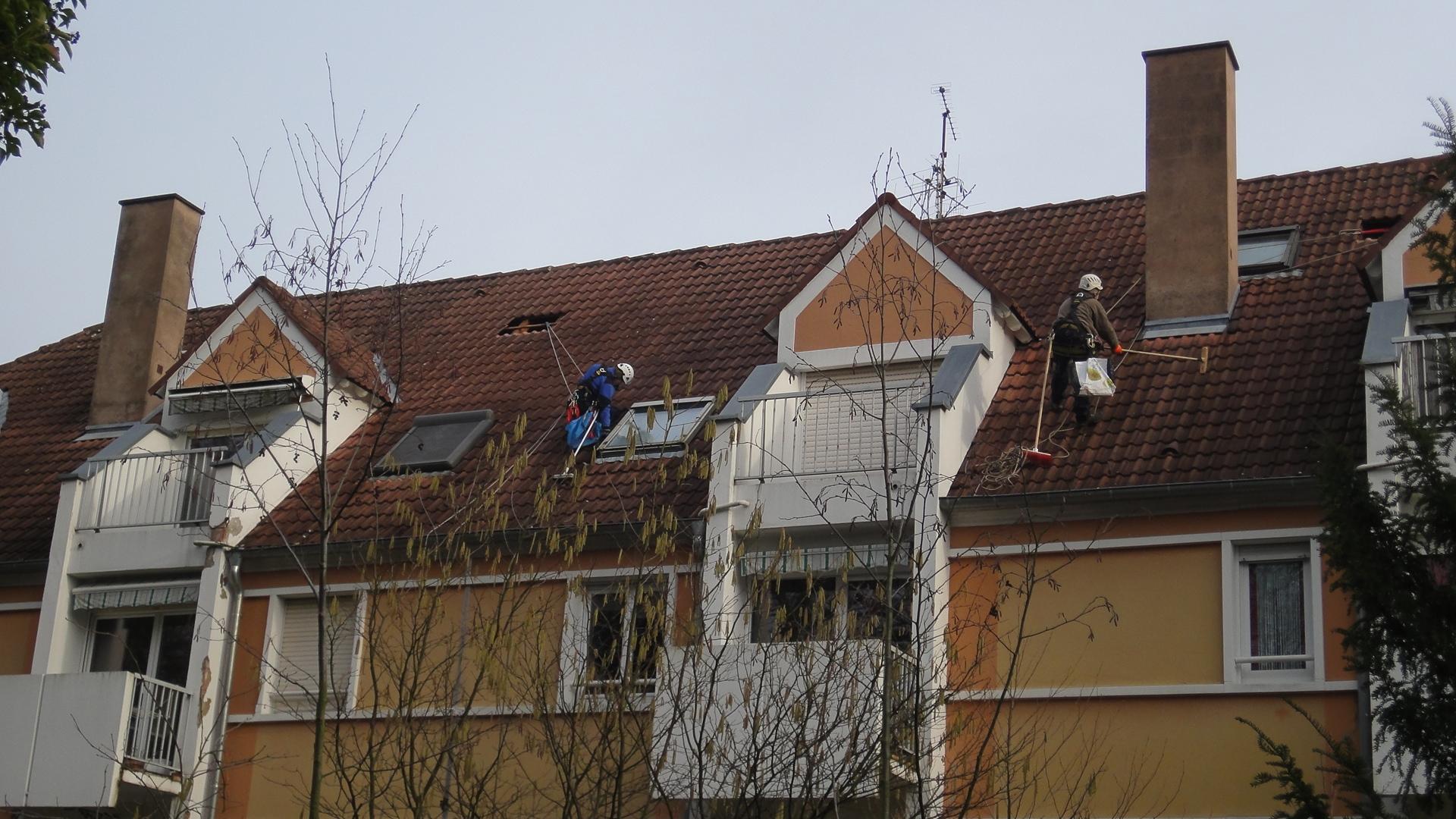 Nettoyage de toitures en Alsace - Panoramen